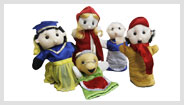 Red Riding Hood Story Glove Puppets